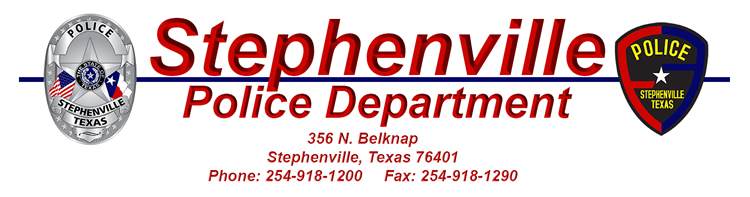 Stephenville Police Department Records Unit